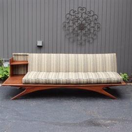 Mid Century Modern Sculptural Sofa