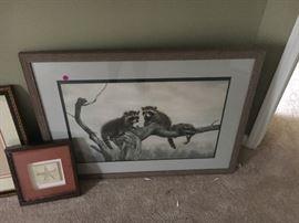 Charles Frace Framed Print