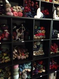Yarn! Loads of knitting yarn!