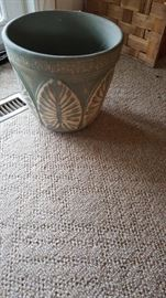 Red Wing Pottery Brushware Plant Pot
