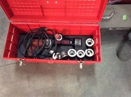 $400-$800 Tube Squaring Machines- with assorted collets & cutting bits