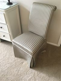 Pair of Parson Side/Accent Chairs
