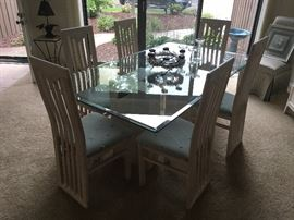 Another View of Dining Room Table & Chairs