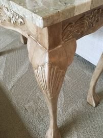 Detail of Console Table Leg