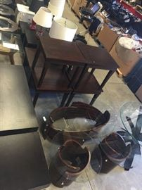 Tables, lamps and more.  Former model home furnishings.