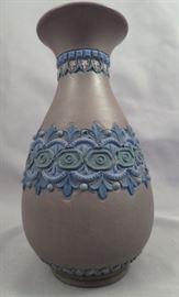 19th Century Doulton Lambeth (England) Silicon Ware Vase