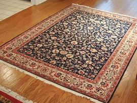 RUGS: Fabulous area rugs of all sizes from Pakistan...all the beautiful colors you're looking for!