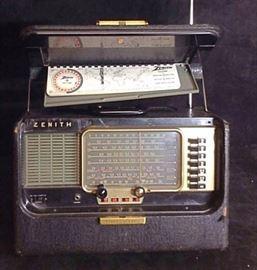 Zenith wave radio vintage