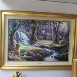 HUGE THOMAS KINKADE ART COLLECTION