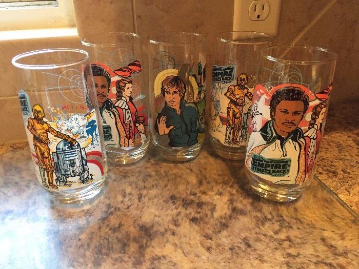 Empire Strikes Back Collectible Glasses