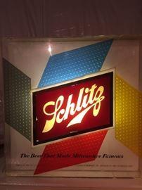 Vintage Schlitz Light Up Sign