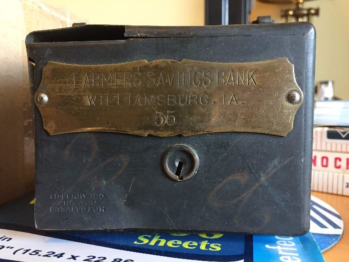 Antique Penny Bank