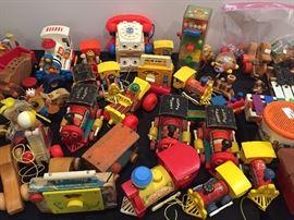 Antique Fisher Price Toys