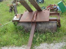 Heavy Duty Roller for roads or lawn