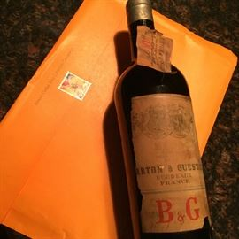 note attached states this bottle was obtained prior to 1918.....................???????