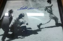 Ted Williams signed photo with certificate of authenticity