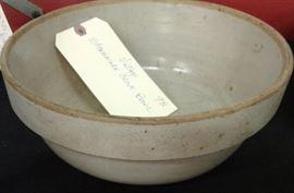 Vintage Stoneware Crock Bowl