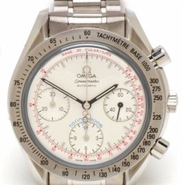 Omega Speedmaster Chronograph Torino Olympic LIMITED Automatic: An Omega Speedmaster Chronograph Torino Olympic LIMITED Edition automatic wristwatch. The watch does not come with box or papers.