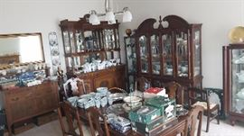 Anyways here is the formal dining room, we don't eat in here it's just for show