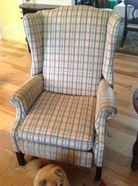Wingback Chair $ 80.00