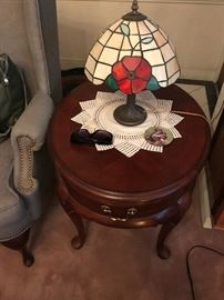 End Tables, Tiffany Lamps