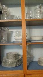 china and stemware