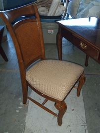 Small chair for writing desk.