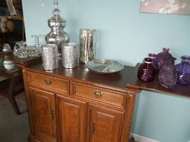 Thomasville Server - opens into a bar.  Excellent Condition.  We have accessories in every color.