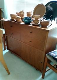 Old Stereo Cabinet Makes a Great Sideboard
