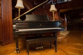 Lavish Piano. More Photos are posted on our website @ https://aether.estate/scott-jones-estate-sale