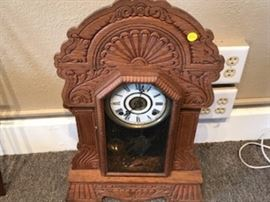 German Vintage Kitchen Clock with timer bell!
