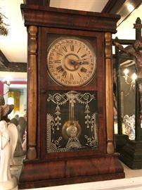 Mantle clock by Davis Clock Co , Columbus Mississippi