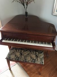 Wm Knabe & Co. baby grand piano