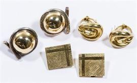 14k Gold Earring Assortment
