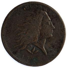 1793 1c VG Details