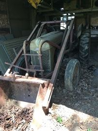 1940s Ford Tractor