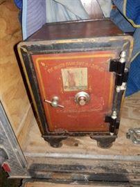 Iron Antique Safe