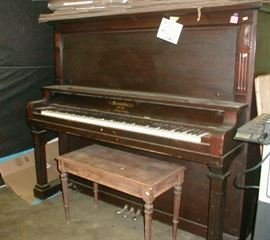 Old upright piano - $25.00 and out the door!