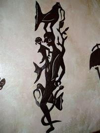 Haitian Steel Drum Art Piece by Gabriel Bien Aime