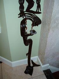 Haitian Steel Drum Art Piece by Julio Balan
