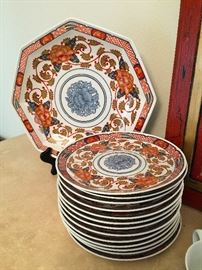 • 'Peony' China by Goerges Briard.. great for entertaining and TONS of pieces!