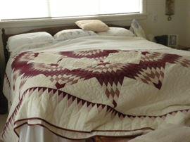 Amish made. king bed