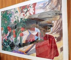 Portland's Henk Pander watercolor