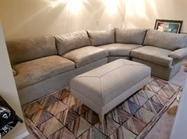 Leather sectional Expressions