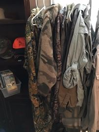 Cabela's outdoor clothes - robes, PJ's, Jackets, Shirts Pants, and more