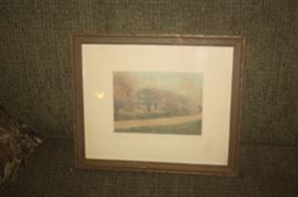 SIGNED WALLACE NUTTING ART