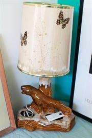 Van Briggle Lamp