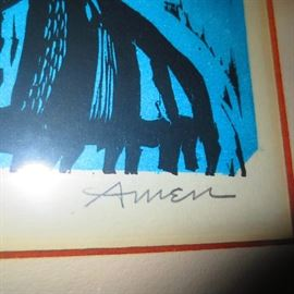 Listed Art IRVING AMEN