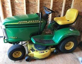 Big 'ol John Deere Tractor LX 255 -- 2001
