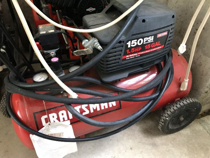 Sears Craftsman Compresser 150 PSi 1.5 HP 15 gallon